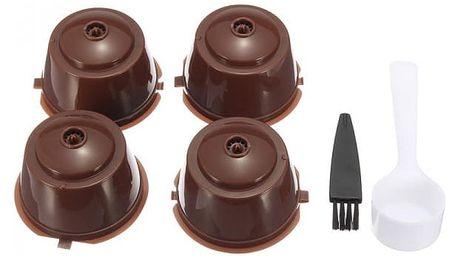 Obnovitelné kapsle do kávovaru Dolce Gusto - 4 kusy