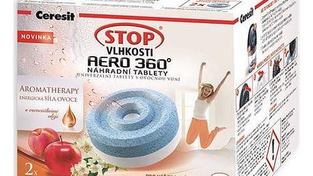 Náhradní tablety do pohlcovače vlhkosti Ceresit Stop vlhkosti AERO 360° energické ovoce