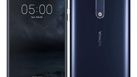 Mobilní telefon Nokia 5 Dual SIM (11ND1L01A10) modrý + DOPRAVA ZDARMA