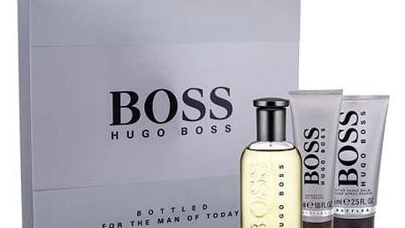 HUGO BOSS Boss Bottled EDT dárková sada M - EDT 100 ml + balzám po holení 75 ml + sprchový gel 50 ml