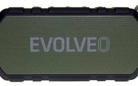 Přenosný reproduktor Evolveo Armor FX6 (ARM-FX6-GEE) zelené