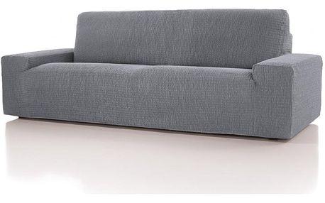 Forbyt, Potah multielastický, Cagliari, šedý dvojkřeslo, 140 - 180 cm