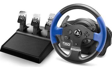 Volant Thrustmaster T150 PRO pro PS4, PS3, PC + pedály (4160696) černý + Doprava zdarma