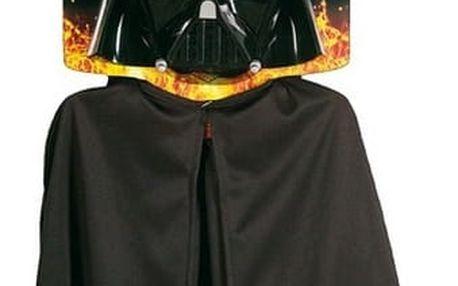 Dětský kostým Darth Vader maska+plášť - Star Wars