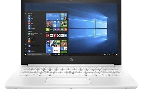 Notebook HP 14-bp005nc (1UY75EA#BCM) bílý + DOPRAVA ZDARMA