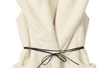 Zimní chlupatá vesta