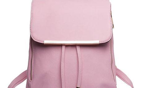 Dámský světle růžový batoh Beate 1669