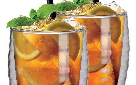 Maxxo 2dílná sada termo sklenice Ice tea