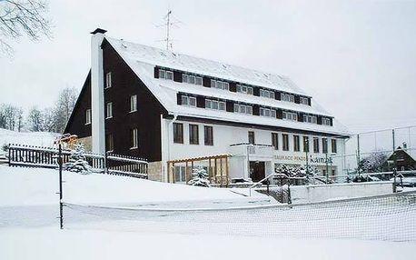 3 nebo 4denní wellness pobyt pro 2 s polopenzí v penzionu Kamzík v Českém Švýcarsku
