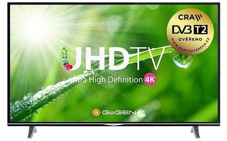 Televize GoGEN TVU 55S298 STWEB černá + DOPRAVA ZDARMA