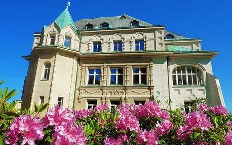 3–5denní wellness pobyt se snídaněmi pro 2 v Kramářově zámku na Liberecku