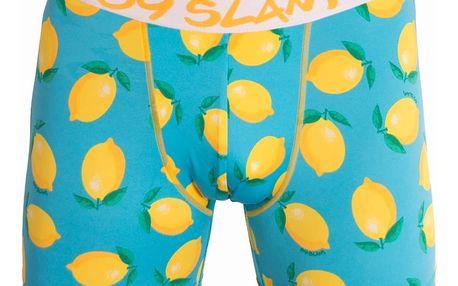 Pánské boxerky 69SLAM fit lemon M