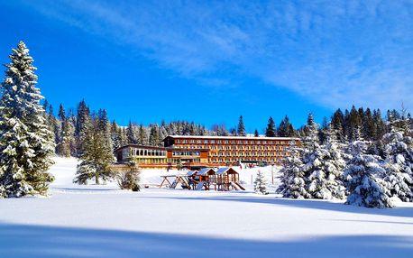 Tatranský hotel Magura u lyžařského svahu