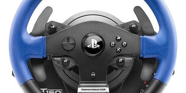 Volant Thrustmaster T150 PRO pro PS4, PS3, PC + pedály (4160696) černý + Doprava zdarma4
