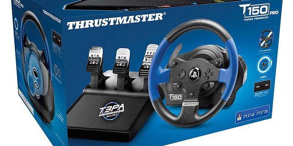 Volant Thrustmaster T150 PRO pro PS4, PS3, PC + pedály (4160696) černý + Doprava zdarma5