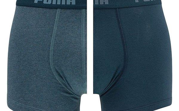 2PACK pánské boxerky Puma denim short XL