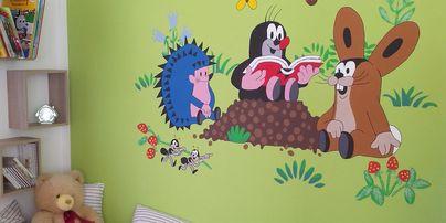 Šablony na zeď