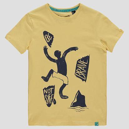 Tričko O´Neill LB GOOD VIBES T-SHIRT Žlutá