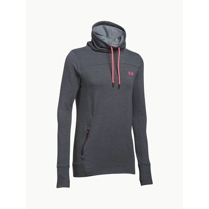 Mikina Under Armour Featherweight Fleece Slouchy Šedá