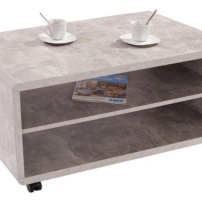 Konferenční stolek martigny, 100/48/59 cm