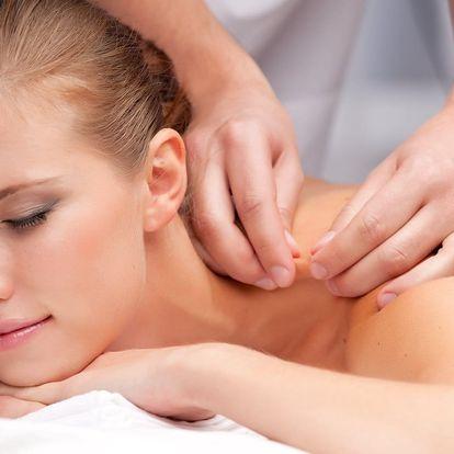 Masáž zad, lávové kameny či párová masáž ve FyzioTOP