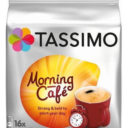 Káva TASSIMO Morning Café, 16 kapslí