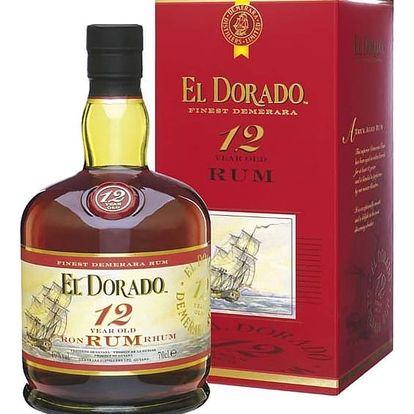 El Dorado Rum 12YO 0,7 40% Dárkové balení