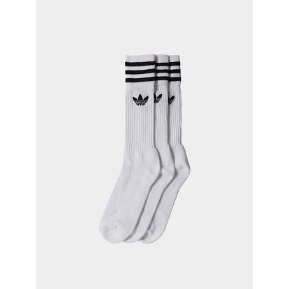 Ponožky adidas Originals SOLID CREW SOCK Bílá