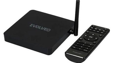 Multimediální centrum Evolveo Android Box H8, Octa Core (ABOX-H8-HDR) černý + Doprava zdarma