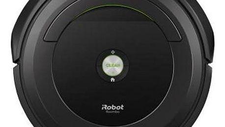 Vysavač robotický iRobot Roomba 696 šedý + Navíc sleva 10 % + Doprava zdarma