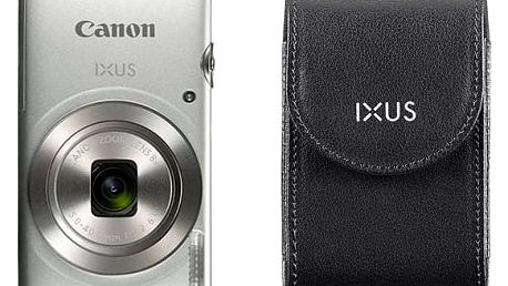 Digitální fotoaparát Canon IXUS 185 + orig.pouzdro stříbrný