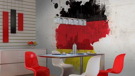 Fototapeta - Národních barvách Německa 400x309 cm