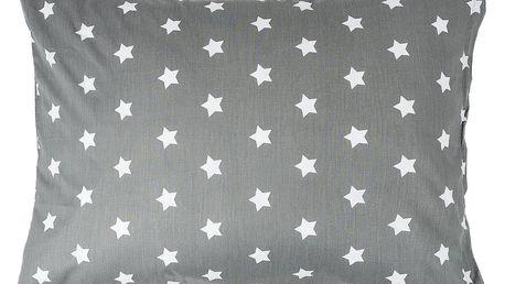 4Home Povlak na polštářek Stars šedá