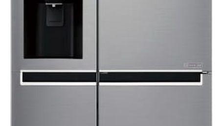 Kombinace chladničky s mrazničkou LG GSL760PZUZ nerez + DOPRAVA ZDARMA
