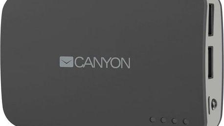Canyon CNE-CPB78 Power Bank 7800mAh, šedá