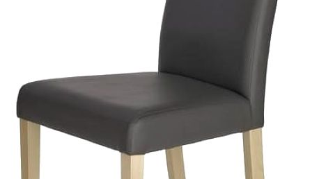 Jídelní židle Norbert šedá Halmar