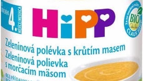 HIPP BIO Zeleninová polévka s krůtím masem (190 g)
