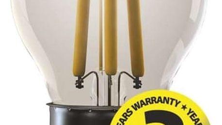 Žárovka LED EMOS Filament Mini Globe, 4W, E27, teplá bílá (Z74240)