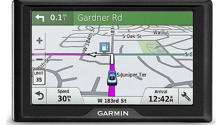 Navigační systém GPS Garmin Drive 51S Lifetime Europe45 (010-01678-13) černá + DOPRAVA ZDARMA