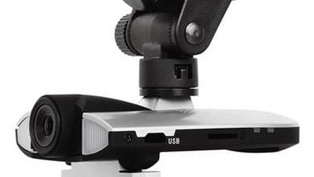 Autokamera GoGEN CC 308 FULLHD černá/stříbrná + dárek Paměťová karta Kingston MicroSDHC 32GB UHS-I U1 (45R/10W) + adapter v hodnotě 397 Kč