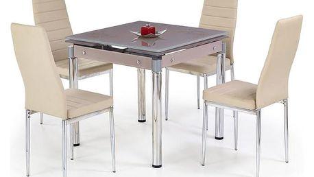 Jídelní stůl KENT Halmar šedá
