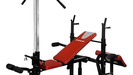 Fitness lavice DUVLAN Arnie s kladkou