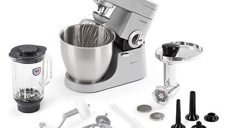 Kuchyňský robot Kenwood Major KMM770 stříbrný + dárek Stolní mixér Kenwood Blend-Xtract SB055WG bílý/zelený v hodnotě 749 Kč + DOPRAVA ZDARMA