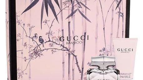 Gucci Gucci Bamboo EDP dárková sada W - EDP 30 ml + tělové mléko 50 ml