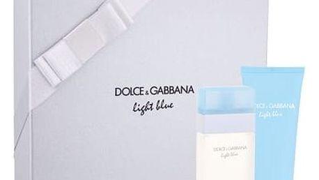 Dolce&Gabbana Light Blue EDT dárková sada W - EDT 50 ml + tělový krém 100 ml