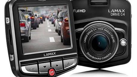 Autokamera LAMAX Drive C4 černá
