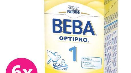 6x NESTLÉ BEBA 1 OPTIPRO (600 g) - kojenecké mléko