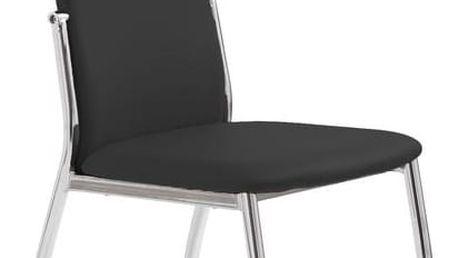 Jídelní židle K3 Halmar černá