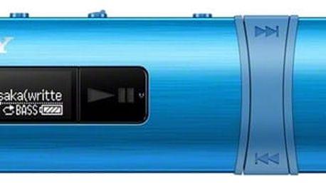 MP3 přehrávač Sony NWZ-B183FL modrý