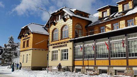 Depandance Hotel Bauer v Beskydech s wellness u lyžařské sjezdovky